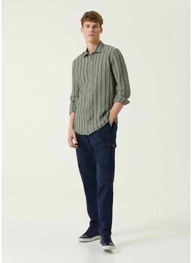 Beymen Collection 101583157 Normal Bel Erkek Kargo Pantolon Lacivert